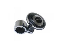 Топка за атомобилен волан Automax универсална , карбон 1бр.