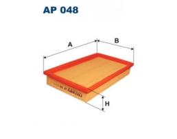 Въздушен филтър за OPEL: Ascona C  Kadett C D;  Filtron AP 048, MA 186, WFP-72.21 1бр.