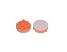 Гъба за полиране на пластмаса и метал AMIO 80x25мм  Профилирана Полираща гъба с Велкро контактна повърхност,оранжева 1бр.