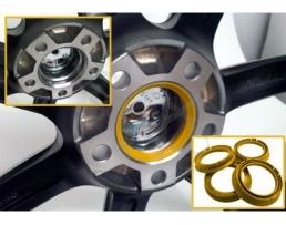 Втулки дистанционни за алуминиеви джанти 66.6 - 57.1 (VW-AUDI-SKODA-SEAT) 4бр.
