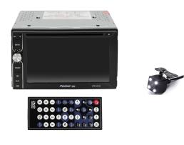 Мултимедия плеър Autoexpress, VDO-6242 ,2 Din ,Камера за паркиране, Тъчскрийн екранен панел, Bluetooth, FM, MP3, MP4 плейър 1бр.