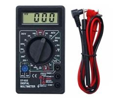 Цифров мултиметър,мултицет DT 832  за измерване на постоянно (DC) и променливо (AC) 1бр.