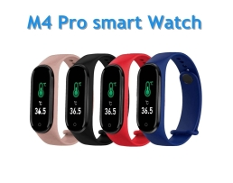 Фитнес Смарт Гривна M4 Amio Кръвно налягане,Крачкомер , Калории, Пулсомер ,Фитнес ,Bluetooth 1бр.