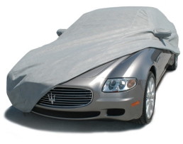 Покривало за кола Car Cover, двойно подсилено и подплатено, Сивo, XL 1бр.