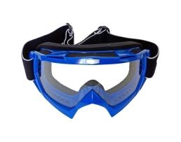 Мото очила с прозрачно стъкло Autoexpress,Сини 1бр.