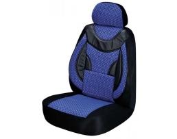 Комплект калъфи за седалки ARO,Тапицерия за бус 1+1 за две единични седалки синя 1кт.