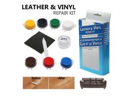 Комплект за ремонт и боядисване на скъсана и напукана кожа AMIO ,реновиране на автомобилни волани и кожени салони,кожени мебели и дрехи 1кт.