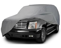 Покривало за кола Car Cover, двойно подсилено и подплатено, Сивo, 4х4 1бр.