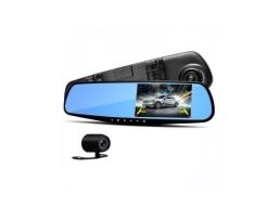 Система за паркиране комплект с DVR Zappin  предна записваща камера-видеорегистратор вградена в огледало с монитор 4.3 1бр.