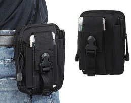 Класическа, водоустойчива чанта която се закача на колана BQ11A 1бр.