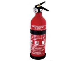 Пожарогасител Anaf group 34B, 1кг прахов с манометър, с заверка за една година 1бр.