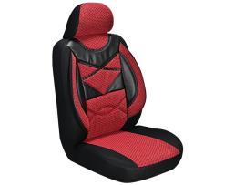 Комплект калъфи за седалки ARO,Тапицерия за бус 1+1 за две единични седалки бордо 1кт.