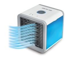 Мини Климатик , въздушен охладител Arctic Air USB охлаждане и овлажняване на въздуха с Led осветление и захранване 12V USB захранване 1бр.