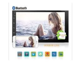 Мултимедия ZAPIN 7011А  7 '' Android 2 Din  Мултимедиен плейър Универсален GPS DAB Авто радио Сензорен екран Стерео Аудио плейър  + Камера за подпомагане паркирането 1бр.