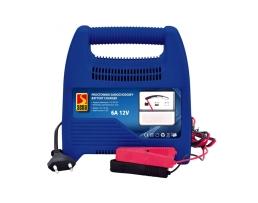 Зарядно устройство ,Токоизправител за автомобилен акумулатор Automax 00381, 6A, 12V, с индикация 1бр.