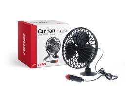 Вентилатор за кола 12V Amio ,Стационарен ,Закрепване с вакум 1бр.