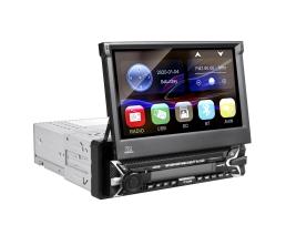 Мултимедия плеър Autoexpress, AC9100,1 Din , Универсален ,Излизащ ръчно ,Тъчскрийн панел, Bluetooth, FM, MP3, MP4, МР5 плейър 1бр.