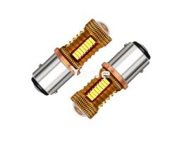 Комплект диодни крушки две светлини 38 LED BAY15D P21/5W, 12V 1кт.