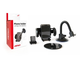 Регулируем държач за телефон в диапазона от 50 до 107 мм. 01250 1бр.