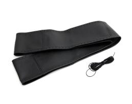 Калъф за волан Automax за шиене от естествена кожа черен размер L 40-42-92мм 1бр.