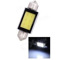 Крушка диодна сулфидна 12V COB 31мм,36мм,39мм,41мм 1брой 1бр.