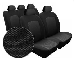 Тапицерия за автомобилни седалки ,текстилна 10 части Универсална ,Различни разцветки 1кт.