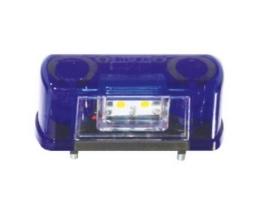 Плафон осветление номер Nokta L0035B за кола, камион, каравана и ремарке 4 диода кт 2бр- 1кт.
