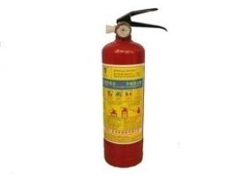 Автомобилен пожарогасител 1кг прахов с манометър 1бр.