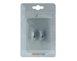 Крушки M-TECH Powertec WY5W T10 12V 5W WEGDE Chrome 1кт.
