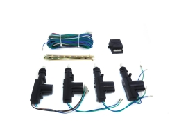 Централно заключване 2M2 Универсалният комплект може да се инсталира и като 1 Главен + 3 Помощни 1кт.