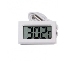 Термометър със сонда бял AG195B 1бр.
