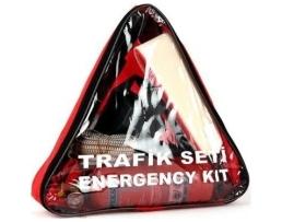 Чанта триъгълна за авариен комплект с цип от водонепромокаема материя 1бр.