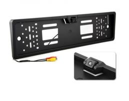 Камера за задно виждане VERTEX вградена в рамката за регистрационния номер JX 488 1кт.