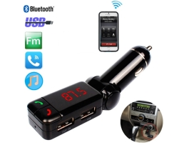 FM Трансмитер Black Car Kit Charger Modulator Wireless USB Stereo MP3 Player Auto adatper Bluetooth 1кт.