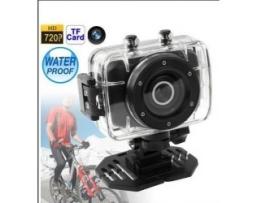 Водоустойчива екшън камера HD 720P 1бр.