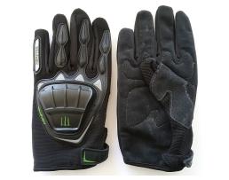 Ръкавици за мотор MONSTER /Моторъкавици/, размер L, Черни, Цели 1кт.