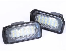 Проектор LED лого за врата, Autoexpress, Mercedes,C-klasa W203 Sedan, SL-klasa R230, CLK-Clasa A209 / C209 .LP006S28 1бр.