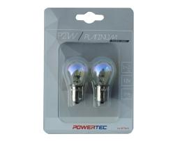 Крушки M-TECH Powertec P21W S25 12V 21W BA15s RAINBOW 1кт.