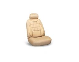 Комплект калъфи за седалки за кола Ekostar, тапицерия за предни и задни седалки ,Пълен комплект 6 части, бежаво  1085 1кт.