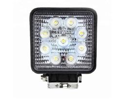 Лед Диоден Халоген, Vertex LED IP67 9 LED – 27W, правоъгълен 1бр.