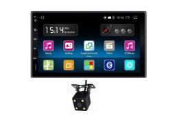 Мултимедия ZAPIN 7011А 7'' Android 7.1 , GPS Навигация , Bluetooth , WiFi  2 Din  Мултимедиен плейър Универсален GPS DAB Авто радио Сензорен екран Стерео Аудио плейър  + Камера за подпомагане паркирането 1бр.