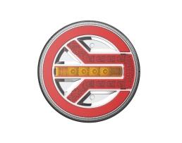 Стоп диоден Amio RCL-06-LR, за каравани ремаркета бусове и др., 1 брой, 02371 1бр.