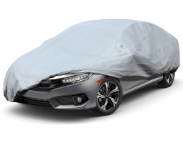 Покривало за кола, автомобил ARO, XL 533x177x119cm., двойно подсилено и подплатено, Сивo, XL 1бр.