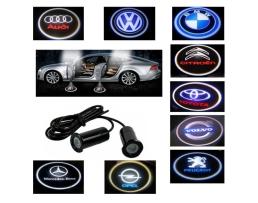 Светодиоден лазерен проектор за врати - Проектор с логото на вашия автомобил  Ghost Shadow GS-001 1кт.