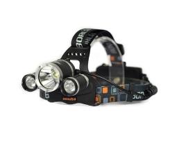 Челник за глава Boruit с акумулаторни батерии и 3 LED диода Boruit 1бр.