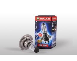 Крушки халогенни за фар H7 Zollex  12V 55W Halogen Standard 1бр.