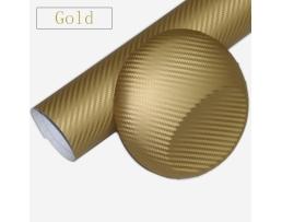 Карбоново фолио Automax, златeн,  ширина 127см 1м.