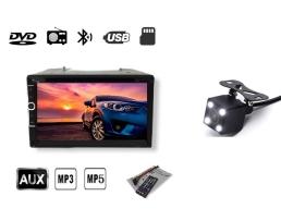 Мултимедия плеър Autoexpress, LT6915 ,2 Din ,Камера за паркиране, Тъчскрийн екранен панел, Bluetooth, FM, MP3, MP4 плейър 1бр.