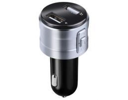 FM Трансмитер X20  Amio Безжичен Bluetooth FMi предавател с LCD екран 2 USB модулатор Автомобилен комплект MP3 плейър 1бр.