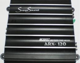 АВТОУСИЛВАТЕЛ   Super Sound ARX-120 150W 1бр.